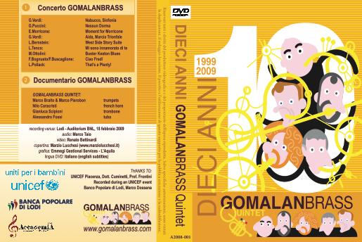 Gomalan Brass dvd 10 anni