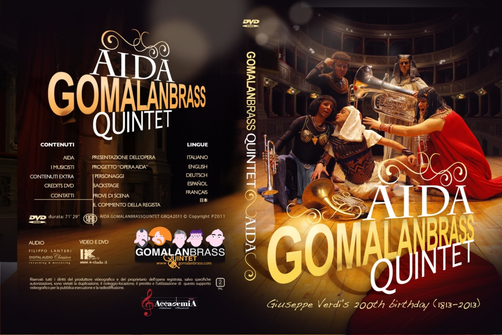 Gomalan Brass dvd Aida
