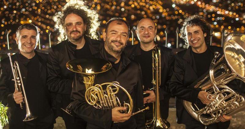 Gomalan Brass Quintet Cartagena